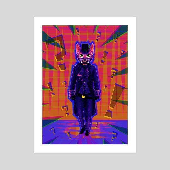 Mad cat. by Szymon Wajner