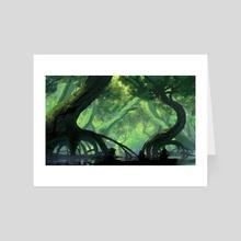 Swamp - Art Card by Levi Gilbert