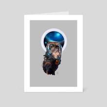 Odyssey - Art Card by dibuholabs