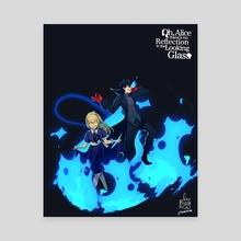 "Oh Alice- ""Summoning Alice""  - Canvas by Sunny Ray"