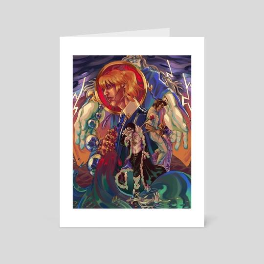 Gods at Sea by Eddy Sailer