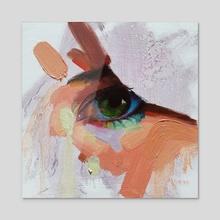 Bright Eye - Acrylic by Ryan Morse
