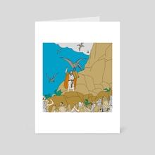 Jesus, Etc. III - Art Card by Jon Stick