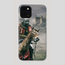 Middle Ages Knight - Phone Case by Carlos Caetano