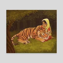 Wild - Canvas by Alyssa Tallent