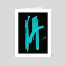 WDVMM - 0180 - Symbol Drift - Art Card by Wetdryvac WDV