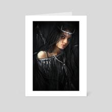 Devil In the Dark - Art Card by Justin Gedak