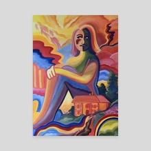 Inner Peace - Canvas by Kiara  Florez