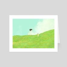 a recurring dream - Art Card by Amity Miyabi