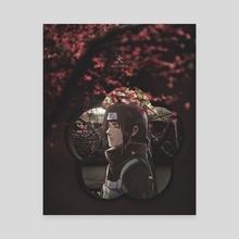 Calmness - Canvas by 火 Ballz Artz