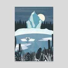 Cold Nights - Canvas by Imagonarium