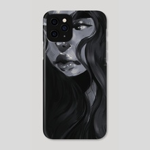 Noir - Phone Case by Angelica Fatourou
