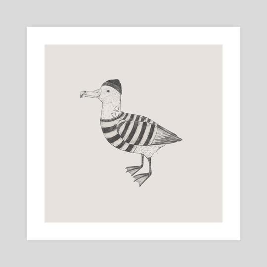Albatross by Kseniia Ponomarenko