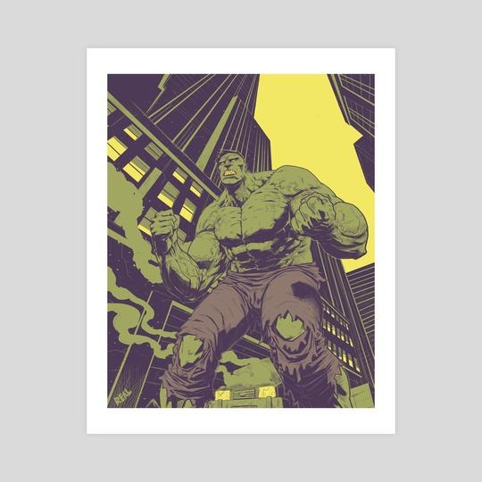 Hulk by Jose  Real