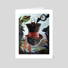 Living in a Dream - Art Card by J.Bello Studio