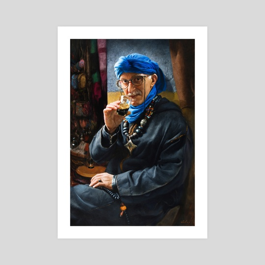The Moroccan Merchant by Pavel Sokov