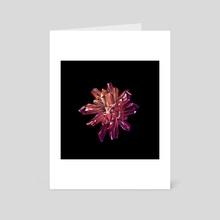 Crystal Burst - Art Card by David Curtis