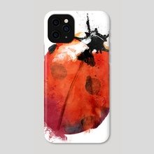 Ladybird - Phone Case by Greg Araszewski