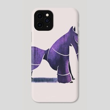 Scottish terrier  - Phone Case by Ali Saei