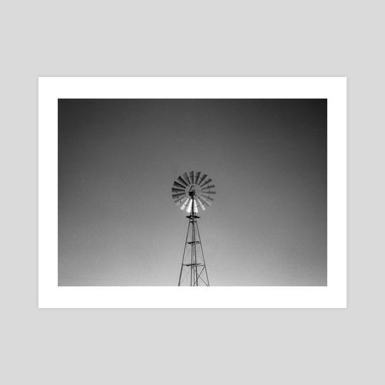 Aging Windmill by Beau Devereaux