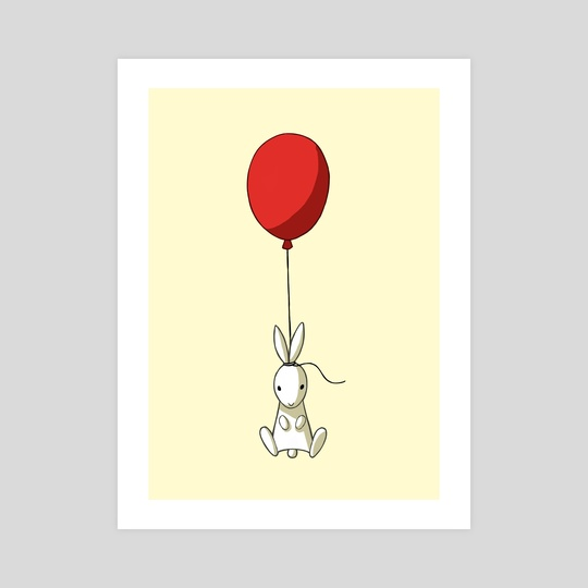 Balloon Bunny by Indré Bankauskaité