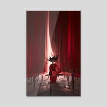 Shaman - Acrylic by Aldo Katayanagi