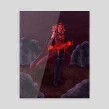 Scarlet Witch #2 - Acrylic by Jackson Duca
