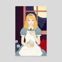Alice's Adventures in Wonderland - Canvas by Sai Tamiya