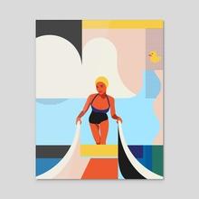 Summer season 2 - Acrylic by Vera Ivanova