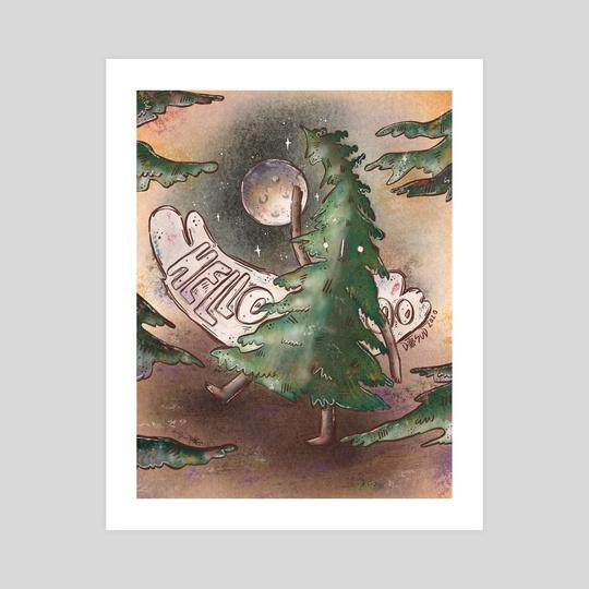 Tree says HELLO by Daisy Sud
