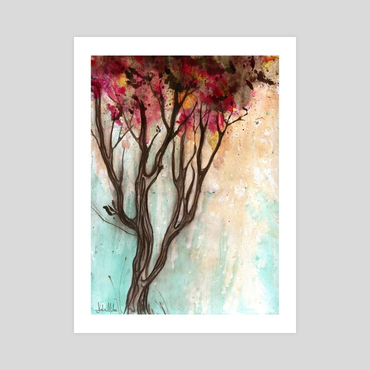 Autumn Tree by Delia Mihai