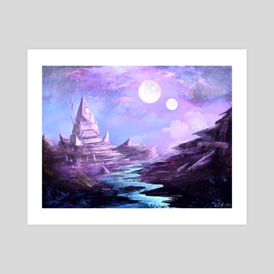 Null Moon by Dillon Thomas