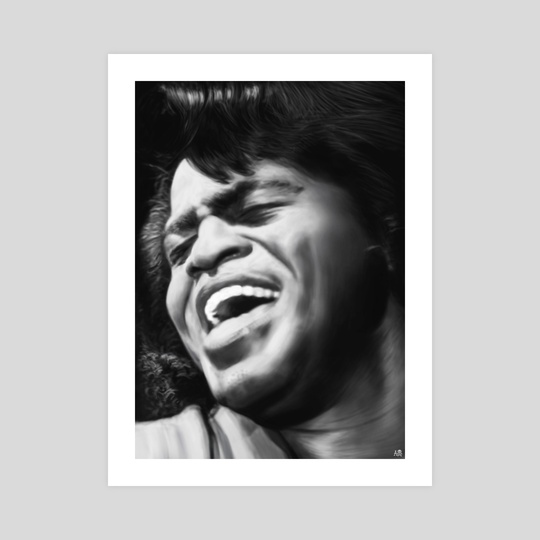 James Brown by Ali Cherif