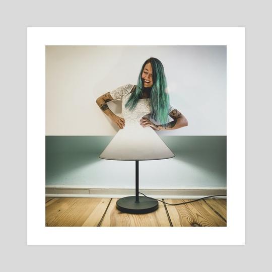 Shiny Dress by Monica Carvalho