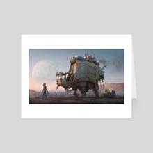 Big Fella - Art Card by Hamish Frater