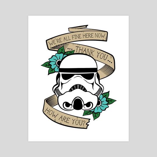 Han Solo Stormtrooper by Brena Karner