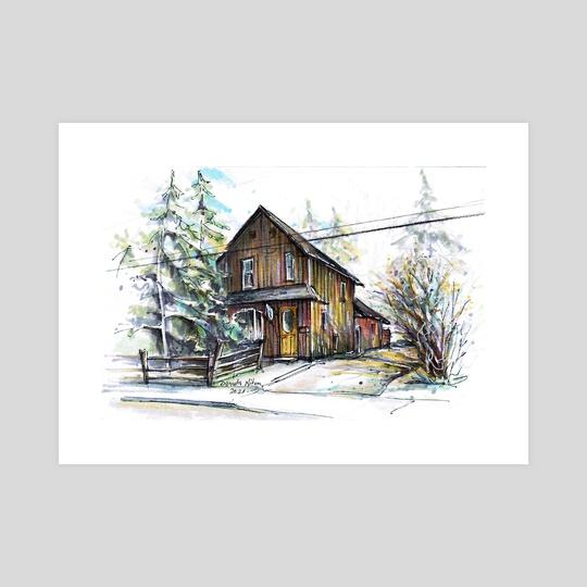 35 Ann St. Dundas by Danuta Niton