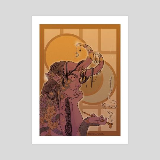 "Mollymauk Sun and Moon by L.F. ""Björncrantz"" Danko"