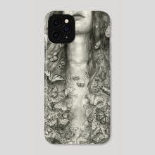 Butterflies - Phone Case by T. Dylan Moore