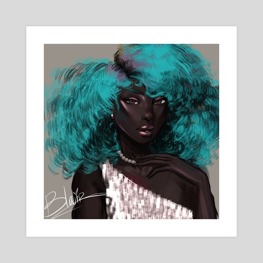 teal by blossom blair