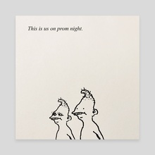 Prom Night - Canvas by Moosey Lips