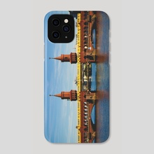 Berlin Bridge - Phone Case by R Baumung