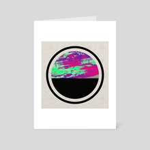 Colour On Top - Art Card by Philip Campbell