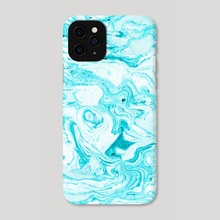 Ocean Blue Marble - Phone Case by 83 Oranges