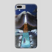 The Lighthouse - Phone Case by Oleksandr Serdiuk