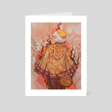 Maiden of Breakfasts - Art Card by miriam