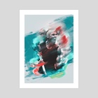Nadal painting - Art Print by Visuals Artwork