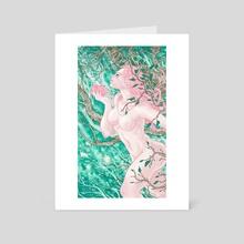 Spring - Art Card by Franco Luna