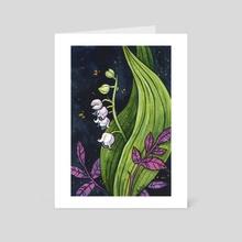 Beautiful Poison - Art Card by Ellen Wilberg