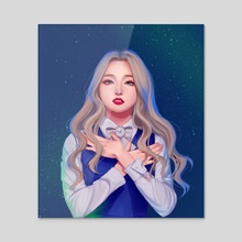Starry - Acrylic by lovelymoondays